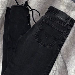 [LEVIS] 711 Skinny Laced Up Ankles